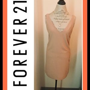 Forever 21 Contemporary Nude Dress
